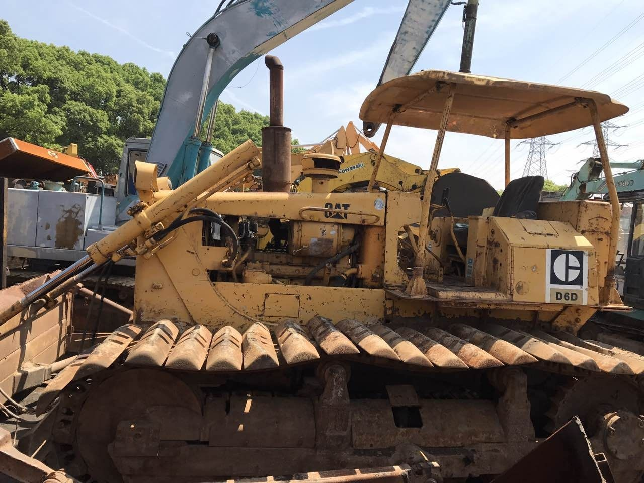 Caterpillar D6D LGP D6CLGP D5B D5C D5H-LGP Crawler Tractor