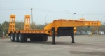 Hot Sale 50T Low Bed Semi Trailer with Ladder made in China