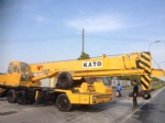 25T used mobile crane /kato japan crane
