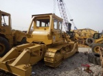 D7G Used bulldozer Caterpillar tractor with winch dozer for sale